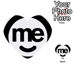 Me Logo Multi-purpose Cards (Heart)