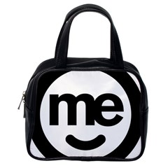 Me Logo Classic Handbags (one Side)