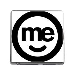 Me Logo Memory Card Reader (square)