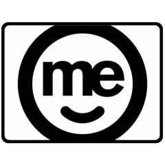 Me Logo Fleece Blanket (large)