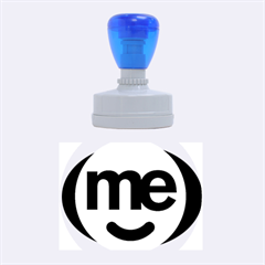Me Logo Rubber Oval Stamps