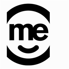 Me Logo Small Garden Flag (two Sides)