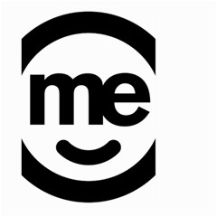 Me Logo Large Garden Flag (two Sides)