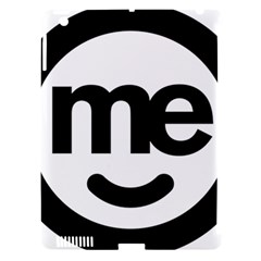 Me Logo Apple Ipad 3/4 Hardshell Case (compatible With Smart Cover)