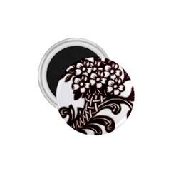 Purple Wood Ornaments 1 75  Magnets