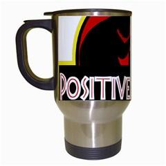Positively Nerdy Travel Mugs (white)