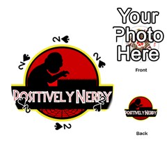 Positively Nerdy Playing Cards 54 (round)