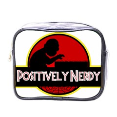 Positively Nerdy Mini Toiletries Bags