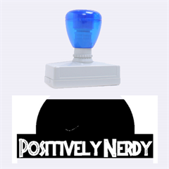 Positively Nerdy Rubber Stamps (Large)