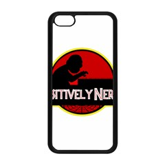 Positively Nerdy Apple Iphone 5c Seamless Case (black)
