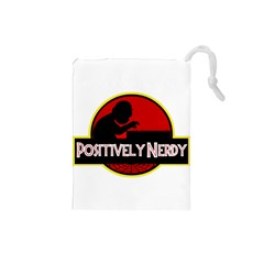 Positively Nerdy Drawstring Pouches (small)