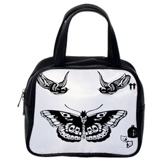 Harry Styles Tattoos Classic Handbags (one Side)