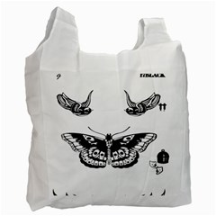 Harry Styles Tattoos Recycle Bag (one Side)