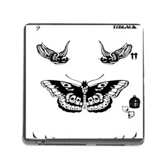 Harry Styles Tattoos Memory Card Reader (square)