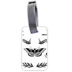 Harry Styles Tattoos Luggage Tags (one Side)