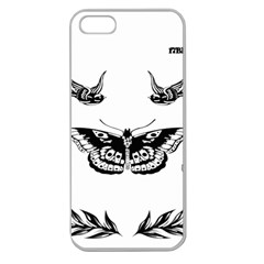 Harry Styles Tattoos Apple Seamless Iphone 5 Case (clear)