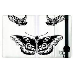 Harry Styles Tattoos Apple Ipad 2 Flip Case