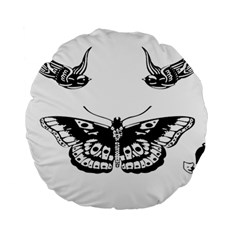 Harry Styles Tattoos Standard 15  Premium Round Cushions