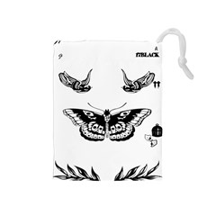 Harry Styles Tattoos Drawstring Pouches (medium)
