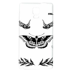 Harry Styles Tattoos Galaxy Note 4 Back Case