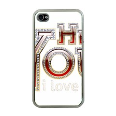 Hey You I Love You Apple Iphone 4 Case (clear)
