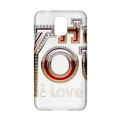 Hey You I Love You Samsung Galaxy S5 Hardshell Case