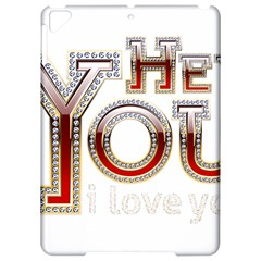 Hey You I Love You Apple Ipad Pro 9 7   Hardshell Case