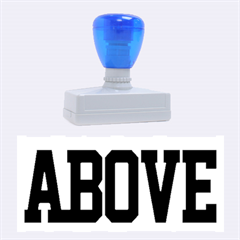 John Cena Rise Above Hate 2 Rubber Stamps (Large)
