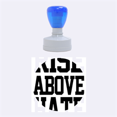 John Cena Rise Above Hate 2 Rubber Round Stamps (medium)
