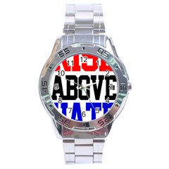 John Cena Rise Above Hate 2 Stainless Steel Analogue Watch