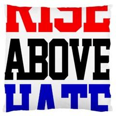 John Cena Rise Above Hate 2 Large Cushion Case (one Side)