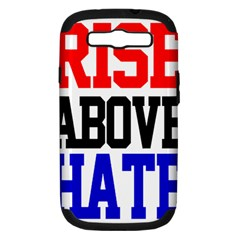 John Cena Rise Above Hate 2 Samsung Galaxy S Iii Hardshell Case (pc+silicone)