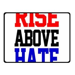 John Cena Rise Above Hate 2 Double Sided Fleece Blanket (small)
