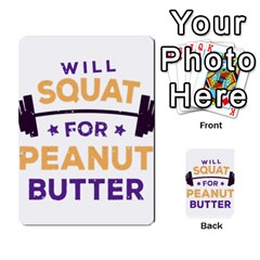 Will Squat For Peanut Butter Multi Purpose Cards (rectangle)
