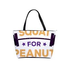Will Squat For Peanut Butter Shoulder Handbags