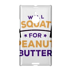 Will Squat For Peanut Butter Nokia Lumia 1520