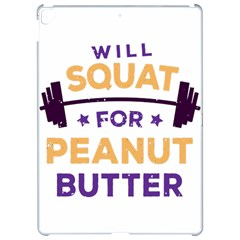 Will Squat For Peanut Butter Apple iPad Pro 12.9   Hardshell Case