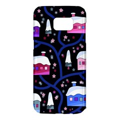 Magical Xmas night Samsung Galaxy S7 Edge Hardshell Case