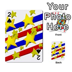 Flag Ransparent Cartoon American Playing Cards 54 Designs