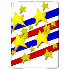Flag Ransparent Cartoon American Apple iPad Pro 9.7   Hardshell Case