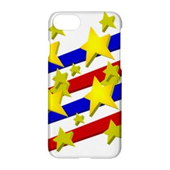 Flag Ransparent Cartoon American Apple Iphone 7 Hardshell Case