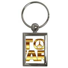 Stop Wars Key Chains (rectangle)