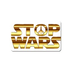 Stop Wars Magnet (name Card)