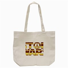 Stop Wars Tote Bag (cream)