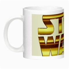 Stop Wars Night Luminous Mugs