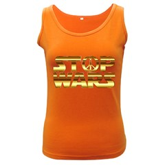 Stop Wars Women s Dark Tank Top