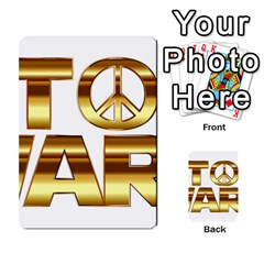 Stop Wars Multi Purpose Cards (rectangle)