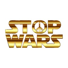 Stop Wars YOU ARE INVITED 3D Greeting Card (8x4)