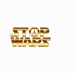 Stop Wars Small Garden Flag (two Sides)