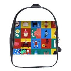The Oxford Dictionary Illustrated School Bags(large)